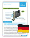 ALLDAQ ADQ-300 Datenblatt (deutsch)
