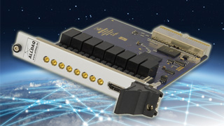 ADQ250 - Potential-free 8-channel voltage measurement card, 16 bit or 18 bit A / D conversion to 2 MS / s, 8 digital I / Os