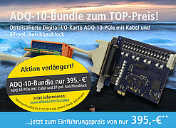 Optoisolierte Digital-I/O-Karte im Power-Bundle
